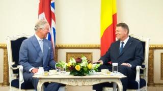 Prinţul Charles, în România