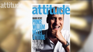 "Prinţul William apare pe coperta revistei gay ""Attitude"""