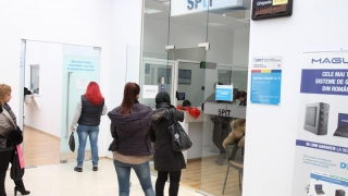 Agenția fiscală nr. 6 de pe strada Sulmona, închisă în urma unei întreruperi de curent