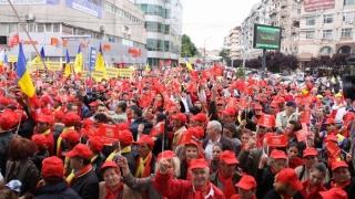 Liderii PSD pregătesc ofensiva. Mega-manifestaţie la București?