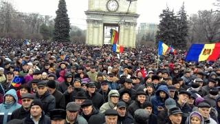 Proteste de amploare la Chișinău