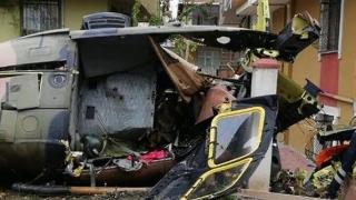Elicopter militar, prăbușit într-un cartier din Istanbul