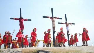 Răstigniri în Vinerea Mare în mai multe sate din Filipine