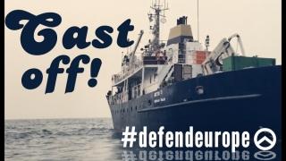 Război pe mare! Militanți europeni de extremă dreapta vor să respingă migranți