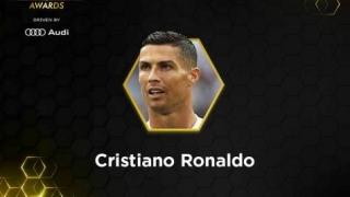 """Cristiano Ronaldo, premiul """"Globe Soccer"""" din 2018 şi favoritul fanilor"""