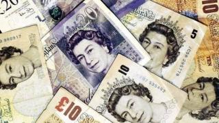 Lira sterlină s-a apreciat la cea mai ridicată valoare de anul acesta