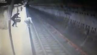 O nouă tentativă de omor la metrou: un bărbat a împis o femeie sub tren