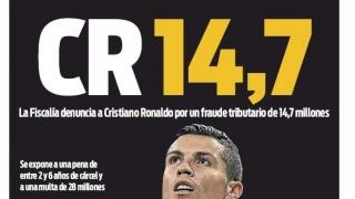 Cristiano Ronaldo, dispus să-și plătească toate datoriile către fiscul spaniol