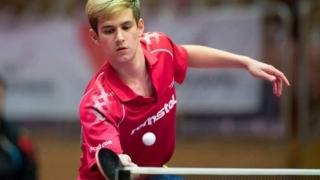 Constănțeanul Cristian Pletea, vicecampion european de tineret la tenis de masă
