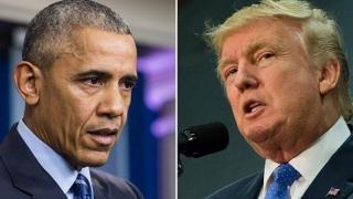 Critici dure din partea lui Obama la adresa lui Donald Trump