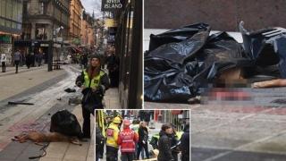"""Românca rănită în atacul din Stockholm: """"Oamenii țipau în jurul meu, credeam că are loc un război"""""""