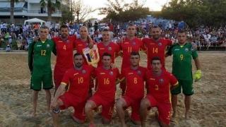 România a învins Grecia, la fotbal pe plajă