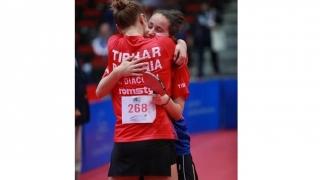 România, campioană mondială la dublu junioare la tenis de masă