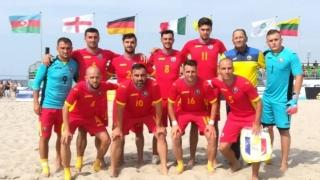 România, la barajul pentru elita fotbalului pe plajă european