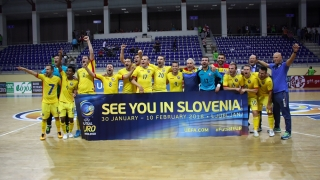 România s-a calificat la UEFA Futsal EURO 2018