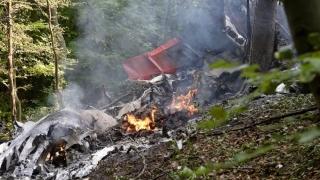 Român mort într-un accident aviatic în Slovacia