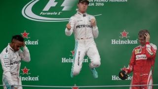 Rosberg a câştigat la Monza şi s-a apropiat la două puncte de Hamilton