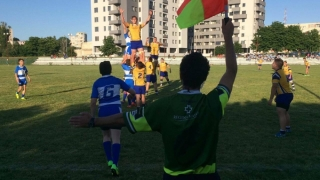 Rugby juvenil pe terenul Cleopatra