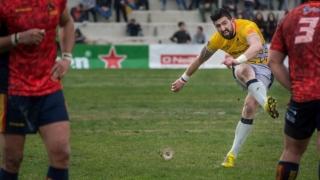 Rugbystul Florin Vlaicu va bifa selecția cu numărul 100 în partida cu Belgia