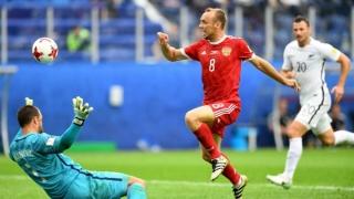 Rusia a câștigat primul meci al Cupei Confederațiilor la fotbal