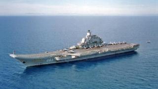 Rusia trimite un portavion în Mediterană, în largul Siriei