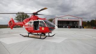 S-a inaugurat Baza Aeromedicală a elicopterului SMURD Constanța!