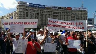 Funcționarii publici cer blocarea legii salarizării