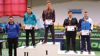 Salbă de medalii pentru Cristian Pletea
