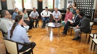 Șapte primari basarabeni, la șezătoare cu președintele CJC