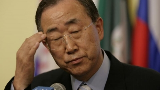 """Secretarul general al ONU, """"vinovat și rușinat"""" de lipsa de progrese în criza israeliano-palestiniană"""