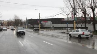 Sens giratoriu nou, pe strada Soveja
