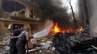 Serie de atacuri sinucigaşe în Liban
