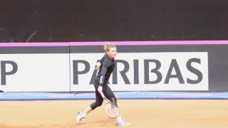 Simona Halep a cedat în finala turneului de la Roma