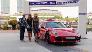 Simona Halep a primit o mașină Porsche la Singapore