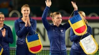 Simona Halep se pregătește în țară pentru Fed Cup