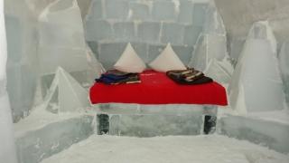 Singurul hotel de gheață din România, rezervat integral pentru 2016 înainte de a fi gata