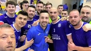 CS Medgidia, înfrângeri pe linie în turneul semifinal din Divizia A la handbal masculin