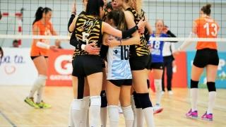CSM București și CSM Târgoviște au nevoie de meciul 5 pentru a ajunge în finala DA1 la volei feminin