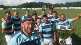CS Năvodari vine de la Belgrad cu trofeul turneului de rugby în 7