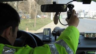Șoferiță prinsă cu 203 km/h
