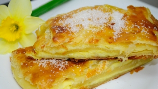 Spanac cu miel și plăcintă cu brânză