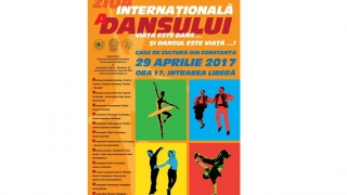 Spectacol gratuit pentru constănţeni de Ziua Internaţională a Dansului