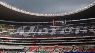 Stadionul Azteca, avariat de cutremurul din Mexic
