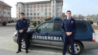"""Studenţi ai Academiei de Poliție """"Al.I. Cuza"""" fac practică la IJJ Constanţa"""