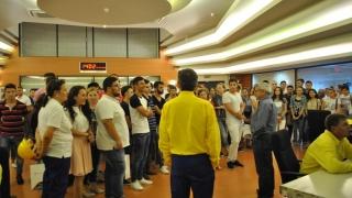 Studenți în internship la Petromidia