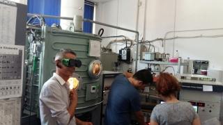 Studenții de la Fizică Tehnologică, în practică pe platforma Măgurele