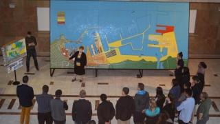 Studenți și cadre didactice din SUA, în Portul Constanța