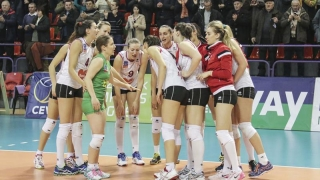 CS Volei Alba-Blaj și-a păstrat titlul național la volei feminin