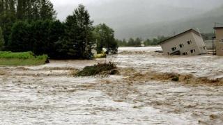 Taifun ucigaș în Japonia