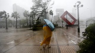 Taifunul Meranti a ajuns în China